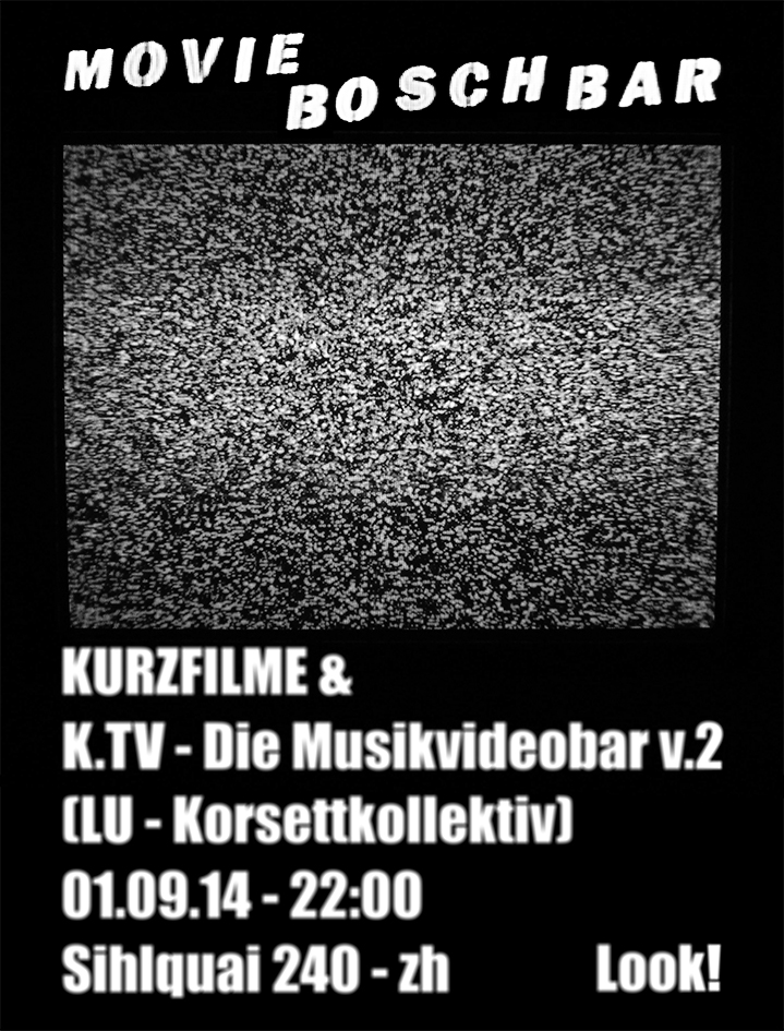 K.TV Bosch Bar Flyer